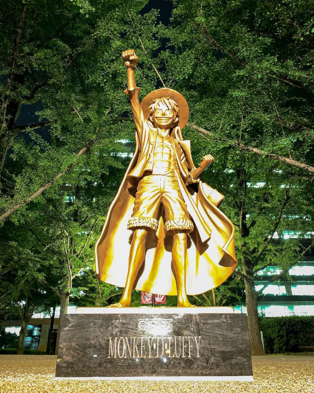 Monkey Luffy statue
