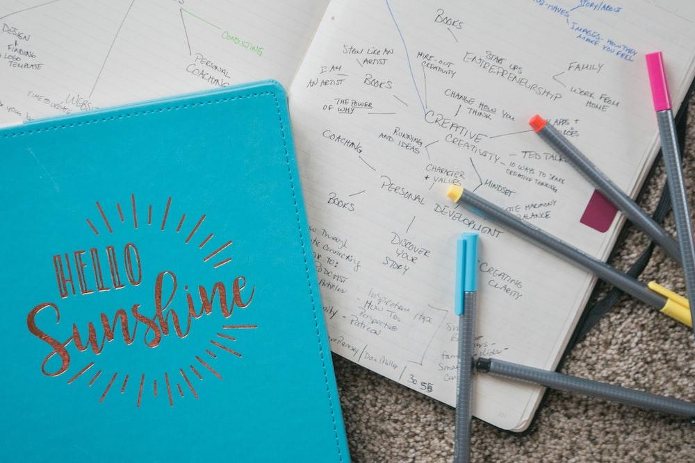 hello sunshine notebook