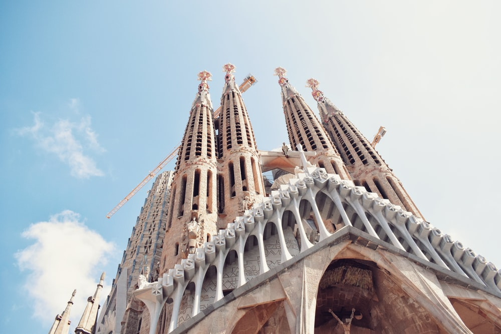 Sightseeing in Barcelona - La Sagrada Familia