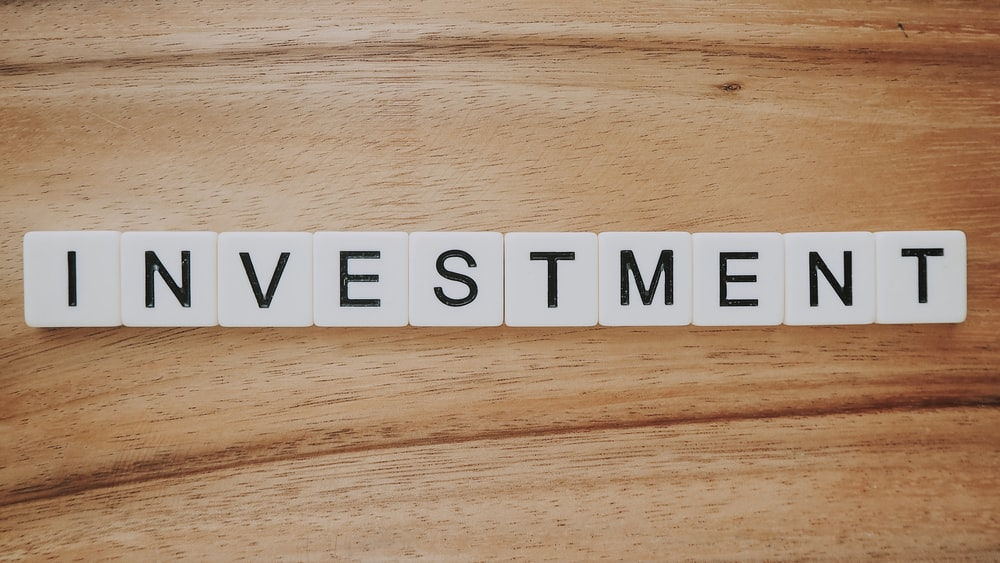 Investment Scrabble text