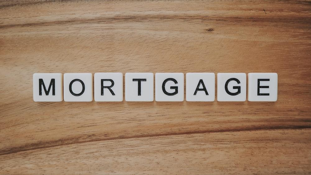 mortgage Scrabble tiles