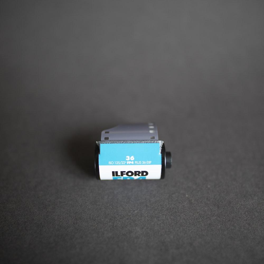 blue camera film
