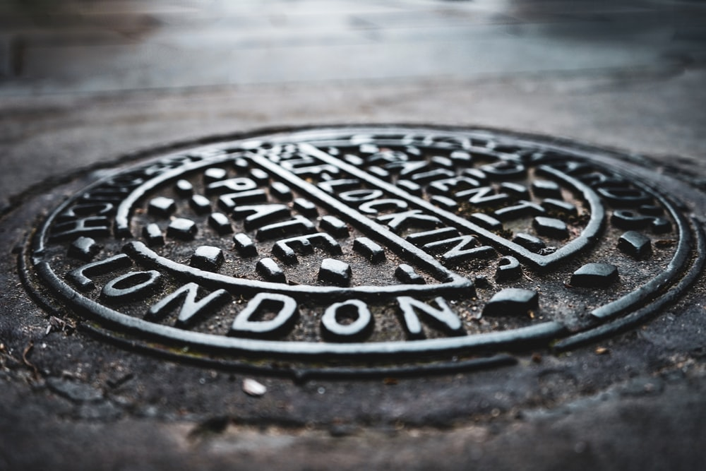 man hole metal cover