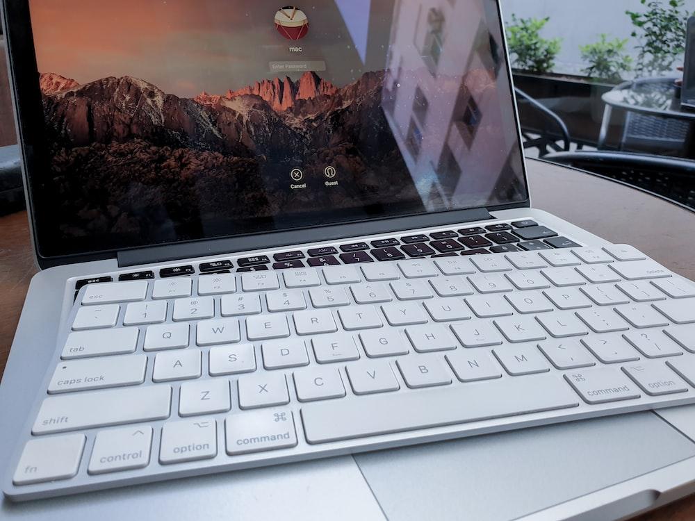 Apple keyboard on MacBook Pro