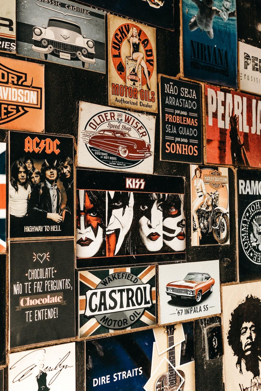 assorted wall arts