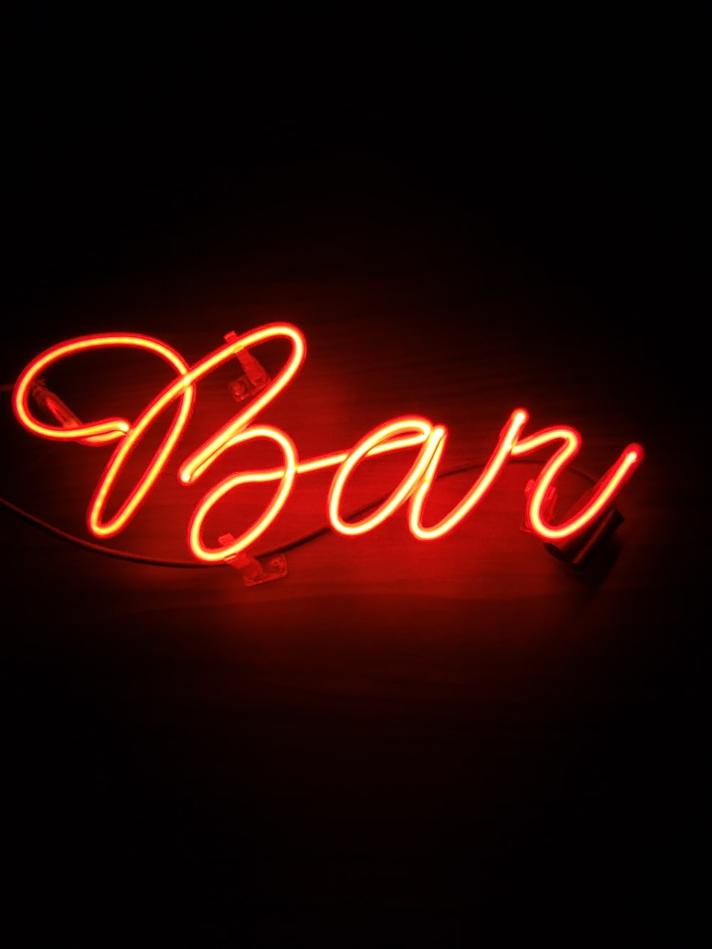 Neon Light Bar And Neonlights Hd Photo By Leonardo Sanches