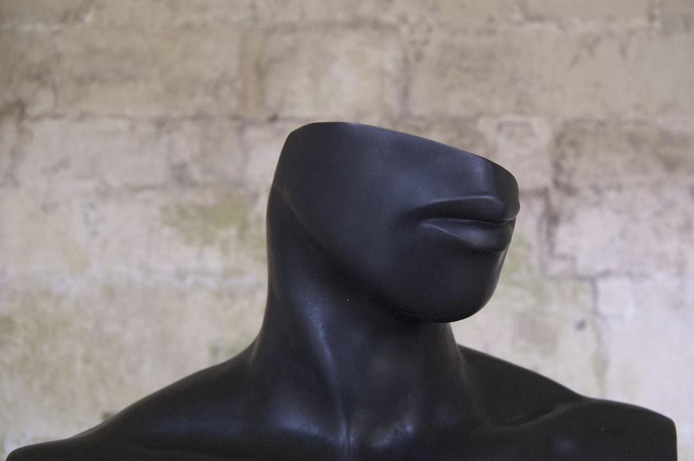 human head statue