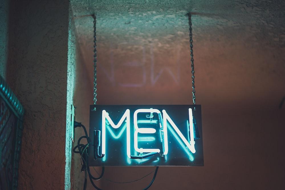 MEN led signage
