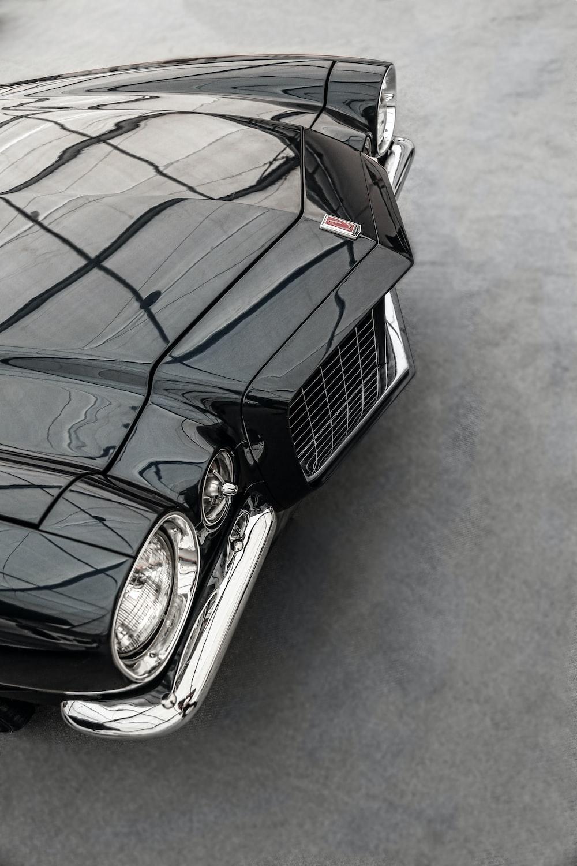 close up photo of classic car