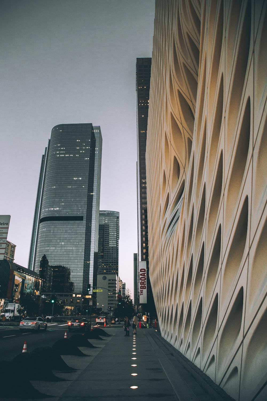 beige concrete building