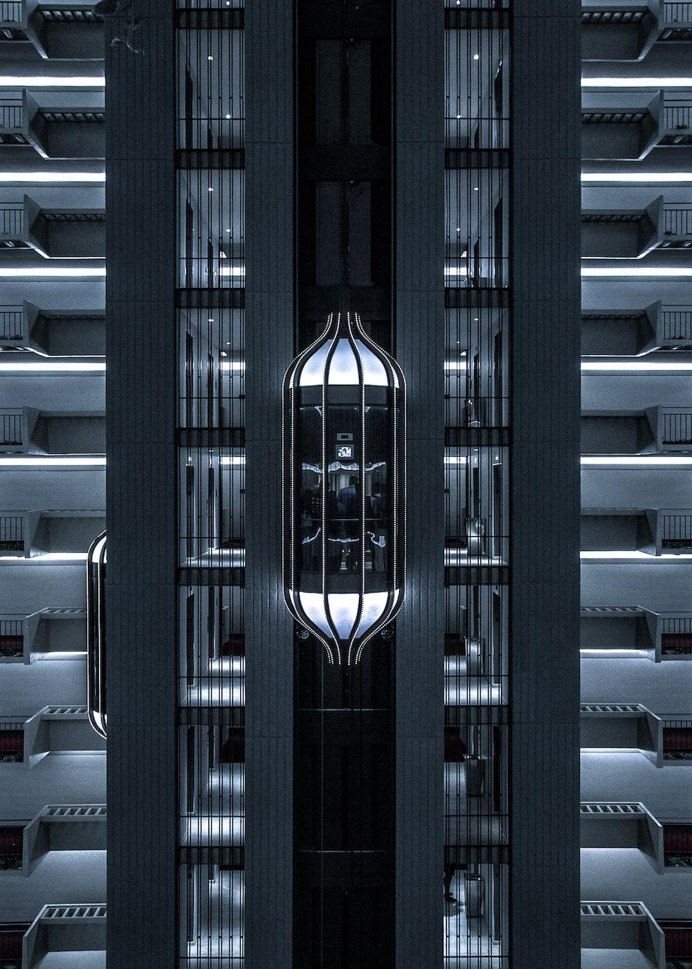 urban photo of an elevator