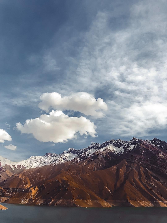 Beautiful frame that was taken at Amir Kabir's dam, Karaj, Iran