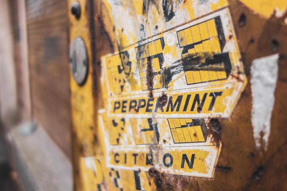 peppermint citron