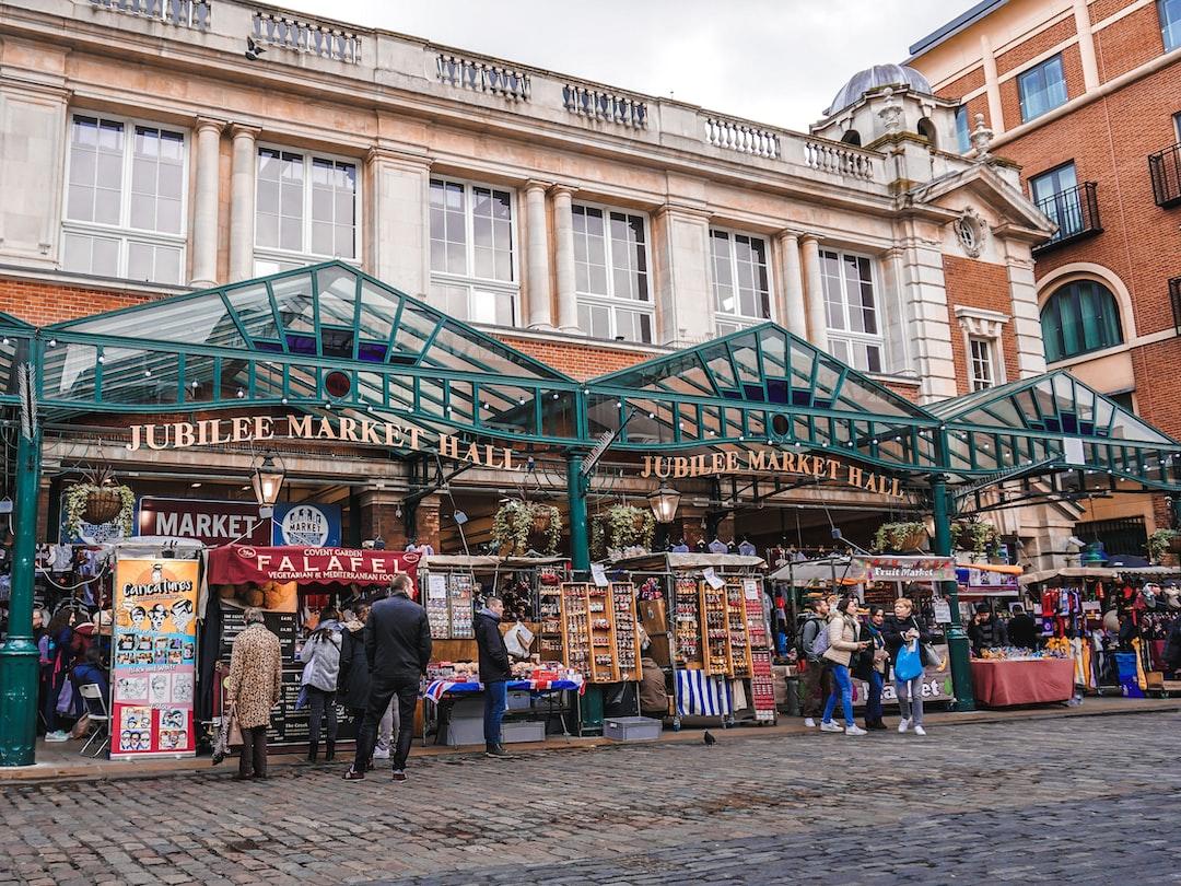 LONDON'S FAMOUS MARKETS YOU MUST VISIT