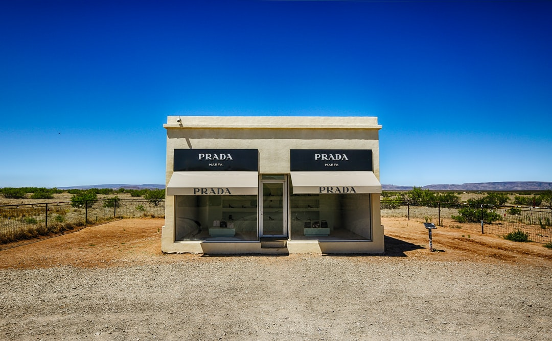 The town of Marfa, Texas has become synonymous with modern, satirical art. All the art isn't in the town itself, as this installation is 28 miles northeast of the town. Out in the middle of nowhere, it still attracts hundreds of tourists every day. A curious road trip find for sure.