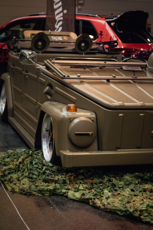 classic gray vehicle