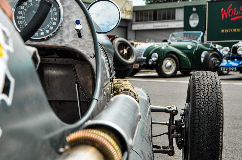 selective focus photo of car\