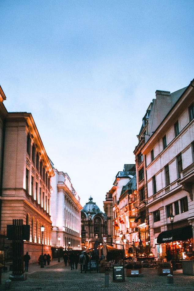 Centro de Bucarest.