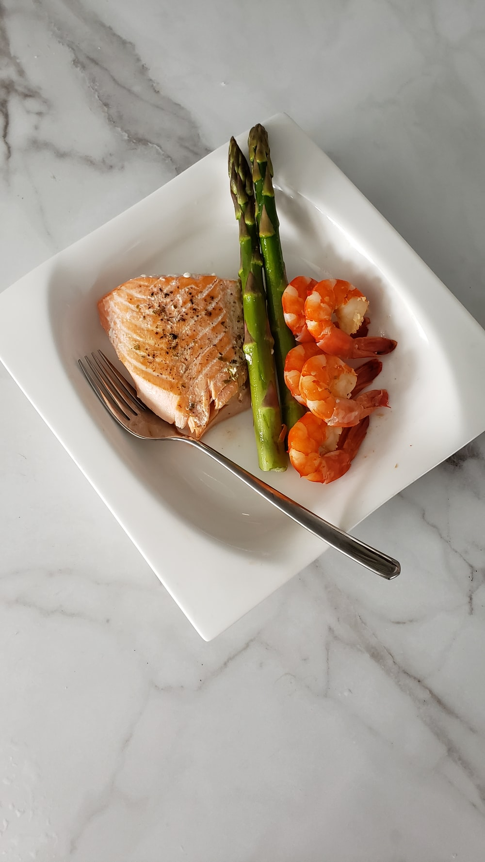 fish and shrimp dish
