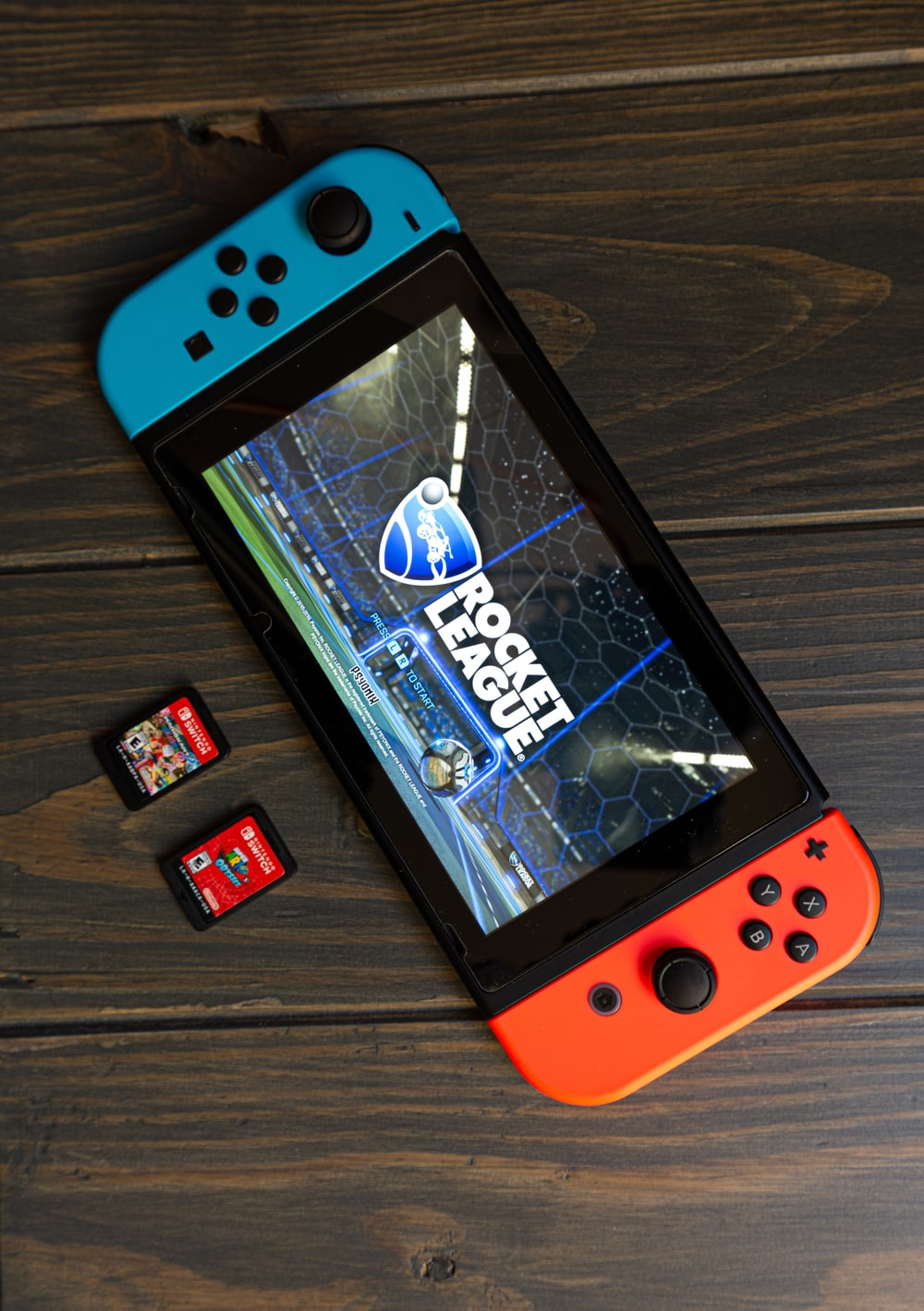 Rocket League game on Nintendo Switch