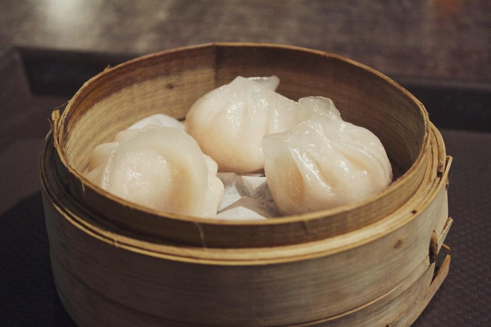 baked dumpling
