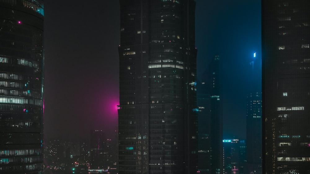 city building scenery