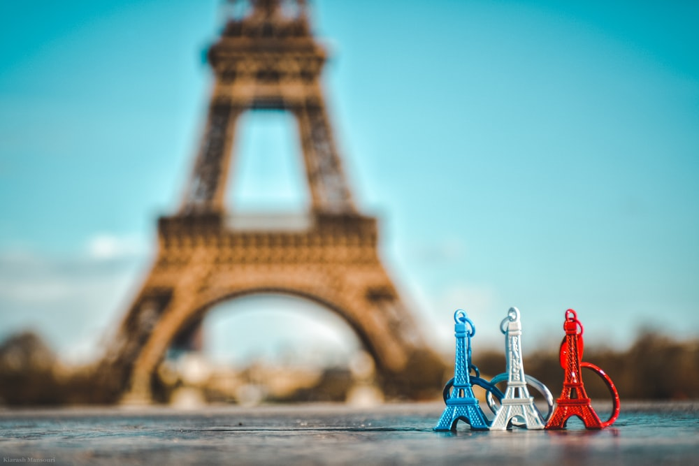 Eiffel tower, Paris keychains