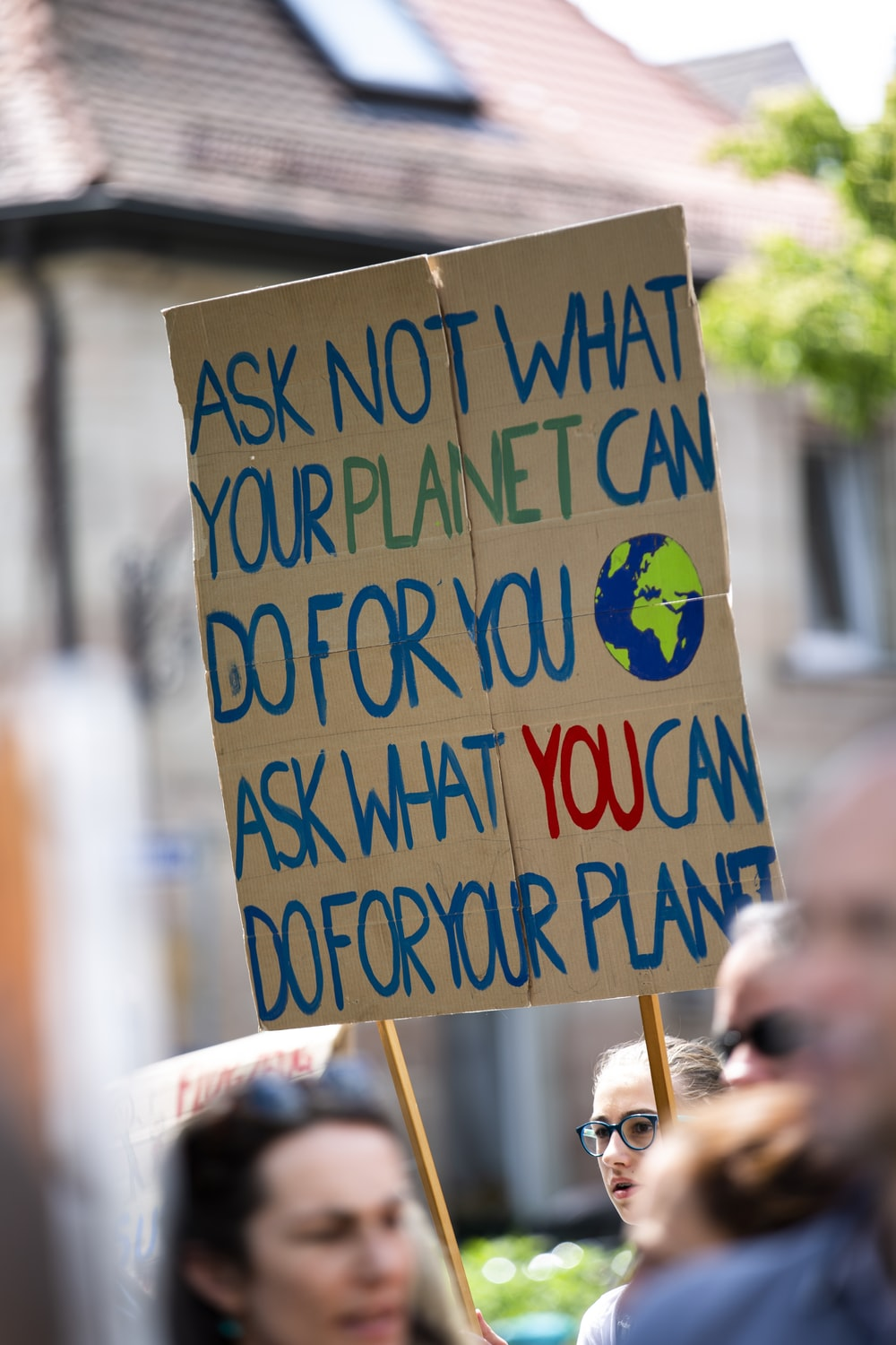Ask not what your planet can do for you sign