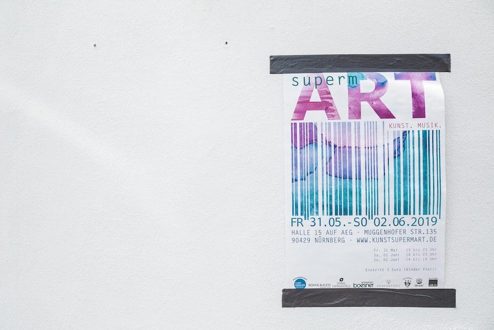 Super M Art text