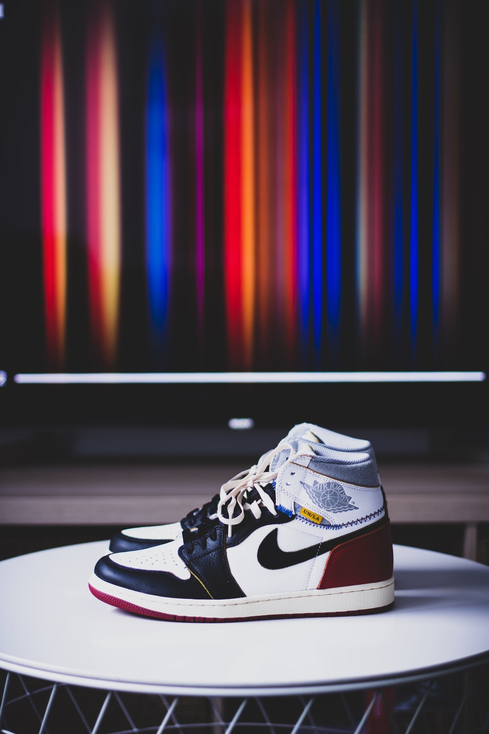 brand new f20ca bc155 Air Jordan 1 Pictures   Download Free Images on Unsplash