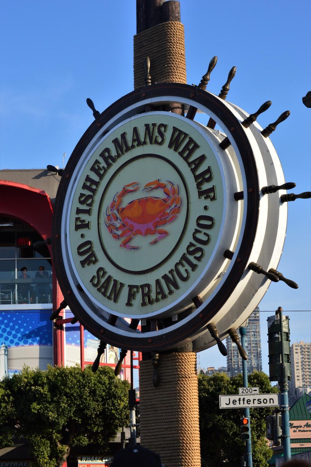 Fisherman's Wharf signage