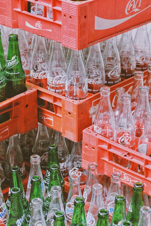 Coca-Cola bottle set