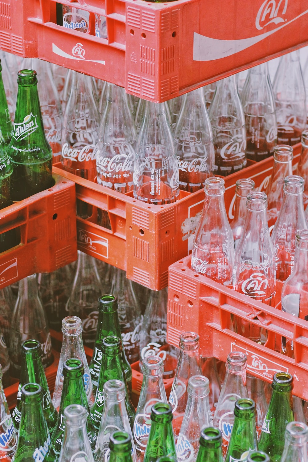 Coca-Cola bottle set