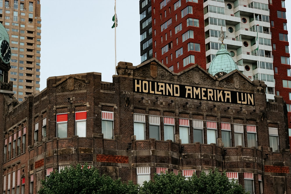 view of Holland Amerika Lun building