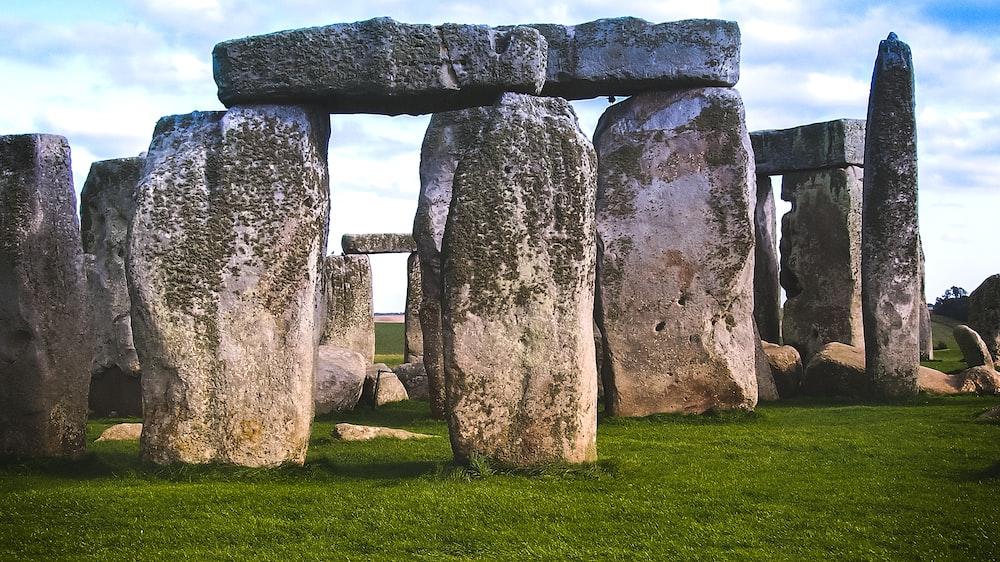 Stonehenge at Wiltshire, England