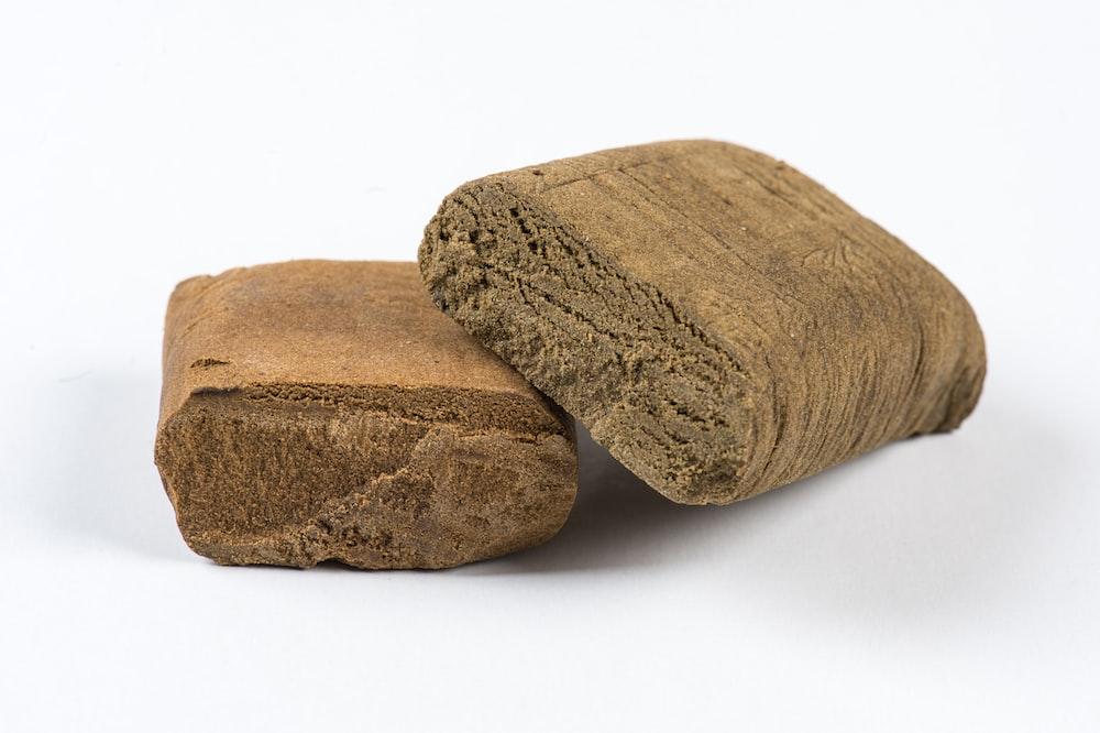 two brown bars