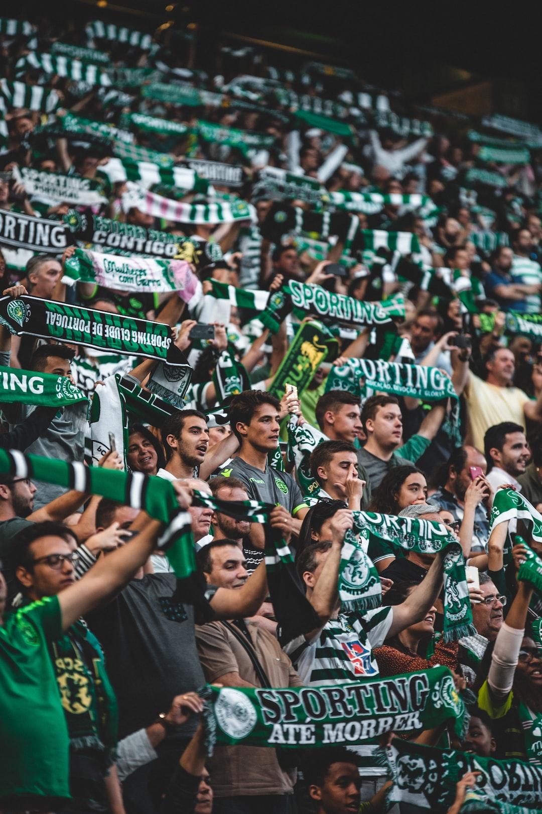 Sporting Fans singing