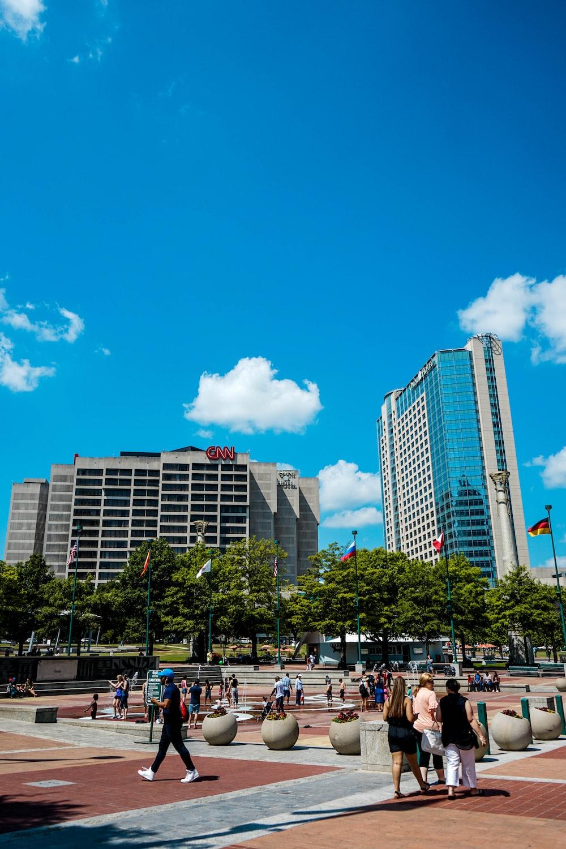 city panorama view