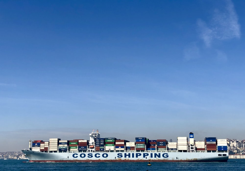 Cosco Shipping cargo ship