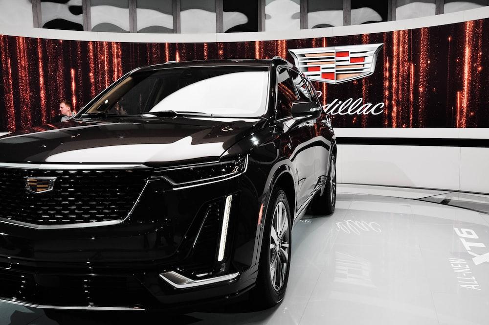 black Cadillac car