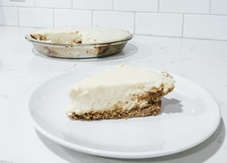 sliced of cake on plate