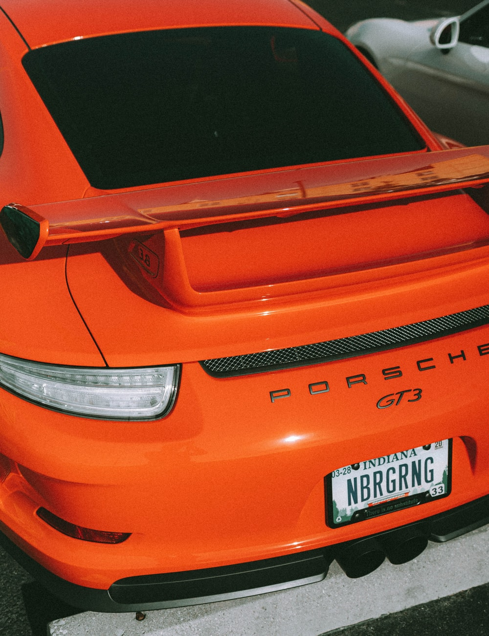 orange Porsche GT3