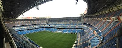 panoramic photo of stadium