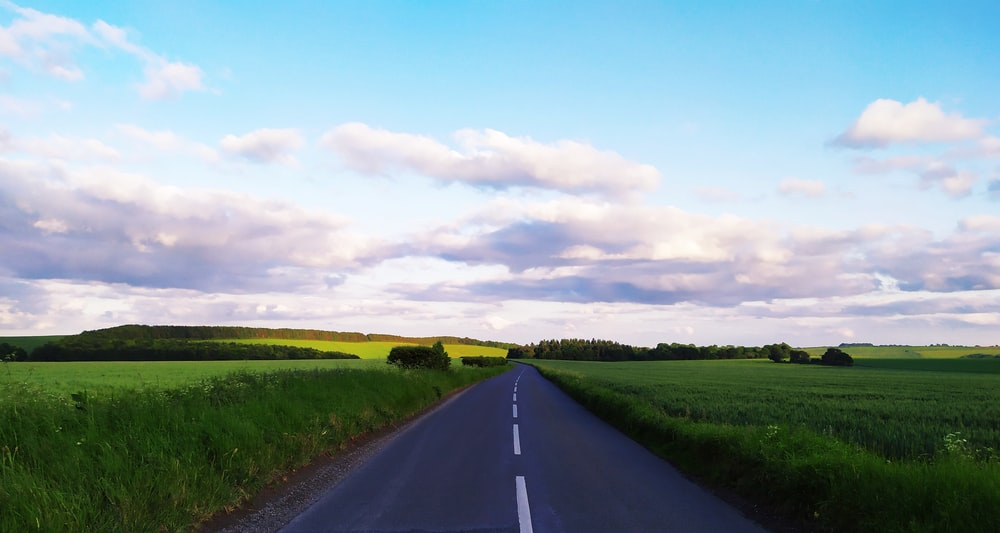 landscape photo of road