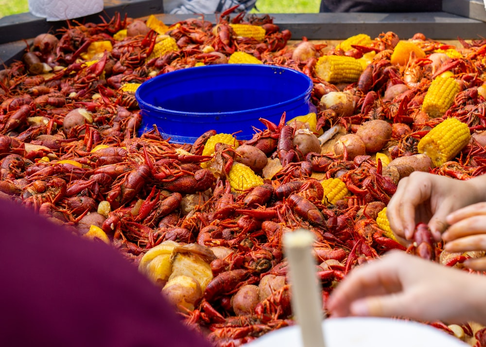 crabs and corns