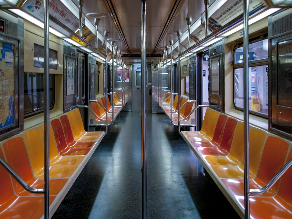 empty train bench