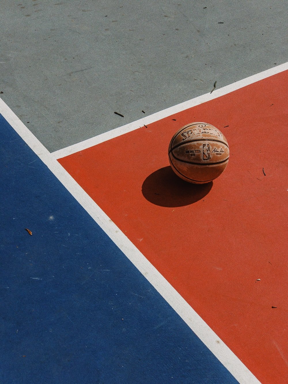 brown Spalding basketball