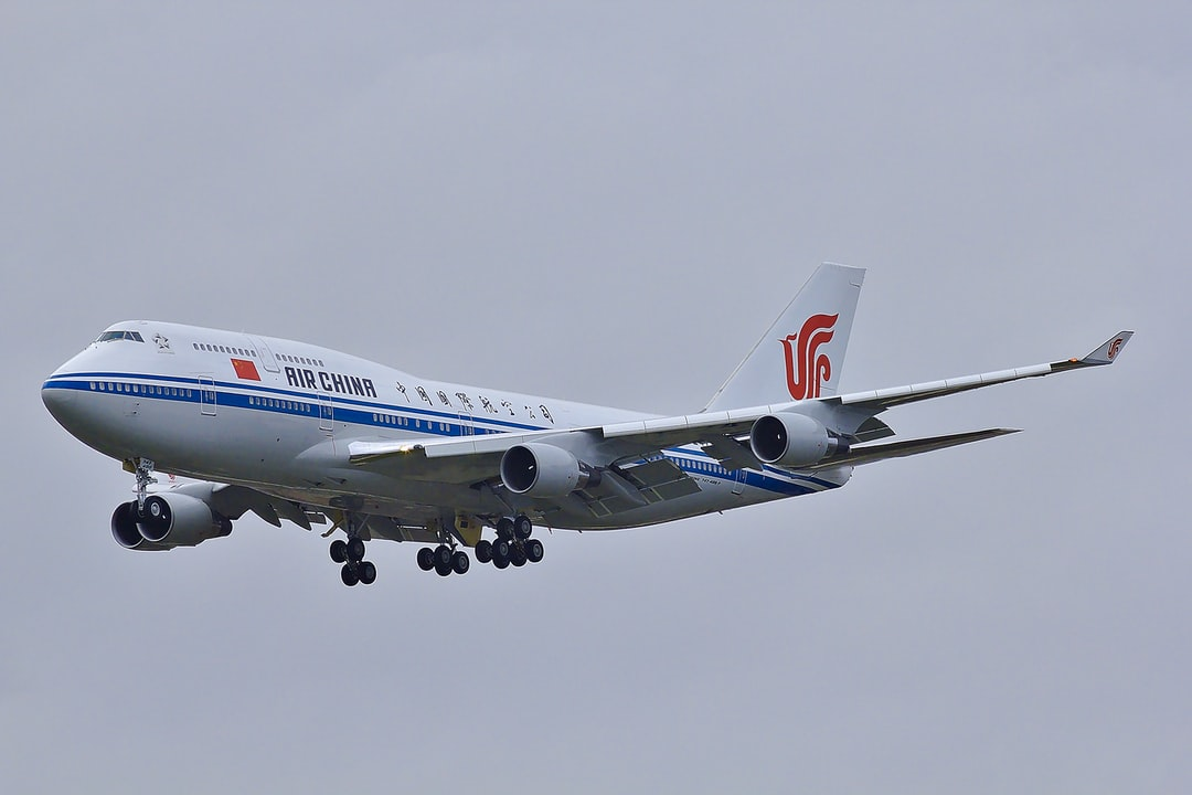 Boeing 747 of the President of China