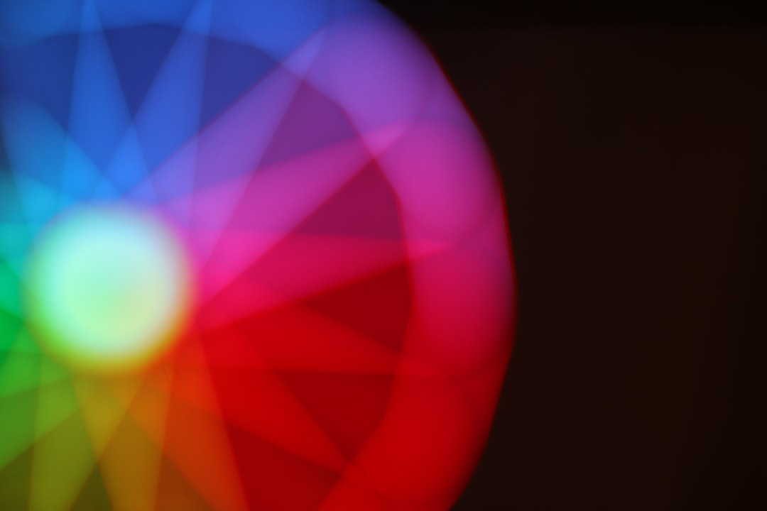 Rainbow mandala!