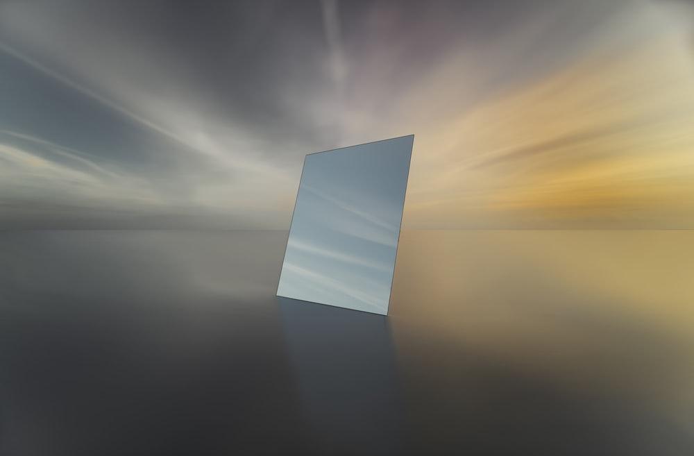 mirror digital wallpaper
